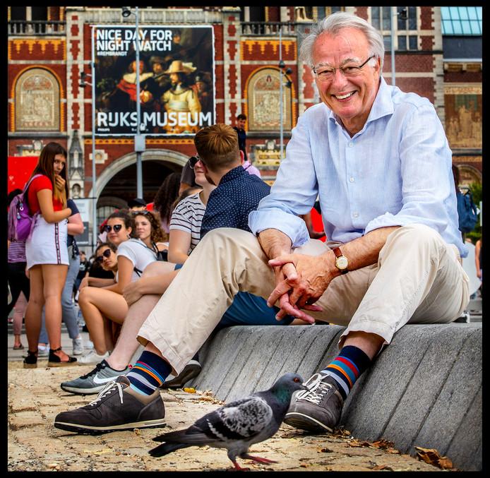 Jozias van Aartsen nam vorige week afscheid als waarnemend burgemeester van Amsterdam.