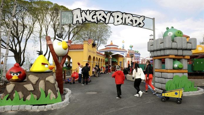 In Tampere, Finland, is al een klein Angry Birds-pretpark