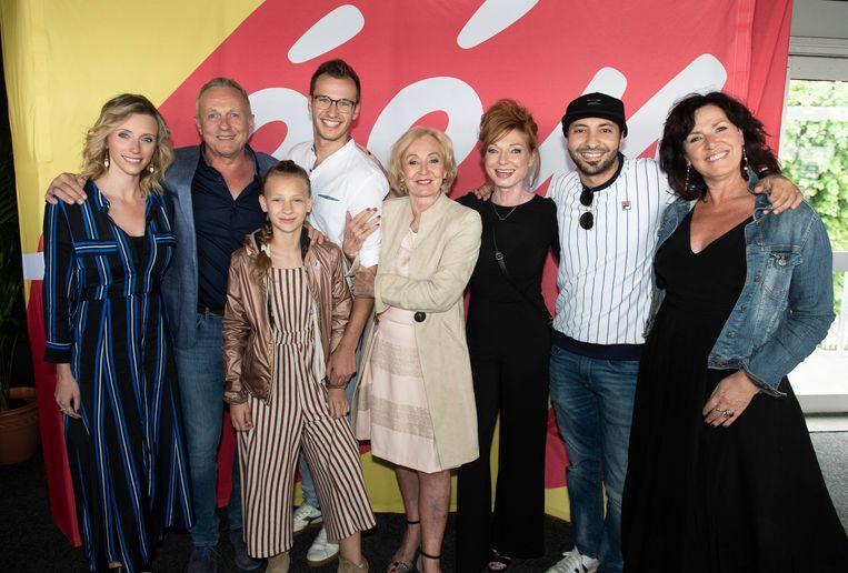 Tine Priem, Ben Van Ostade, Apolonia Sterckx, Michiel De Meyer, Leah Thys, Marleen Merckx, Nawfel Bardad-Daidj en Annick Segal.