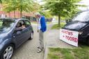 Joop van Ooijen van 'Jezus Leeft' demonstreerde vorig jaar met enige regelmaat bij de Casa-kliniek in Houten