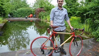 Moerbekenaar achter 'bamboefiets' in running voor Student-Ondernemer van het jaar