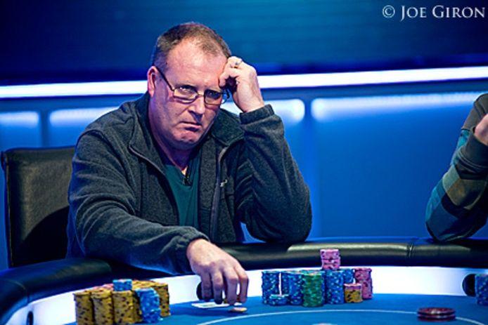 Patrick Kelly is chipleader in het Main Event