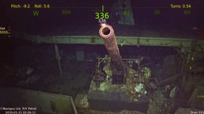77 jaar na meedogenloze aanval door Japanse bommenwerpers: wrak van legendarisch oorlogsschip USS Hornet gevonden