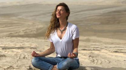 Gisele Bundchen deelt strandfoto's om milieu te beschermen