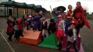 Leerlingen De Zonnebloem genieten van carnaval