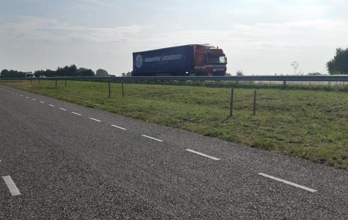 De nieuwe situatie in Heijningen.