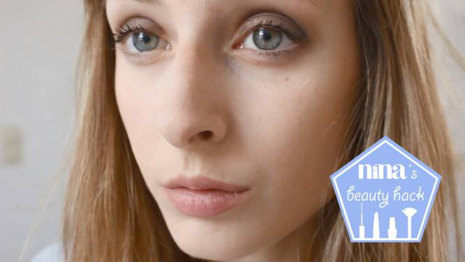 NINA's beautyhack: een smokey eye met twee producten