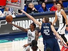 Les Clippers émergent contre Dallas