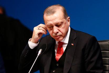 Samenscholingsverbod aan Brussels hotel waar Turkse president Erdogan verblijft