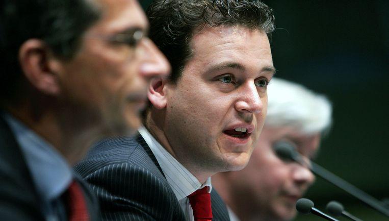 In de Voorjaarsnota bezuinigt PvdAwethouder Lodewijk Asscher ruim 35 miljoen euro. Foto ANP Beeld