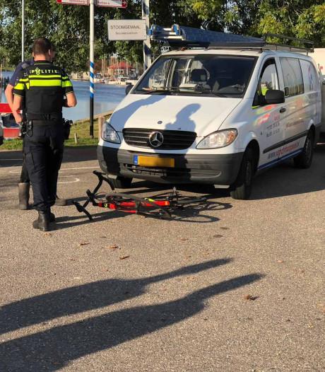 Wielrenner gewond bij aanrijding in Nijkerk