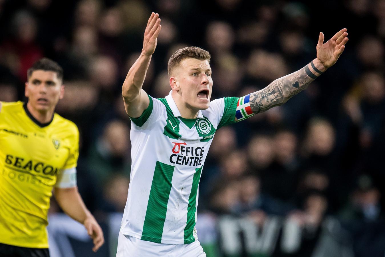 FC Groningen-captain Samir Memisevic staat voor een vertrek naar China.