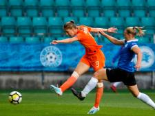 Leeuwinnen zonder topscorer Miedema tegen Turkije
