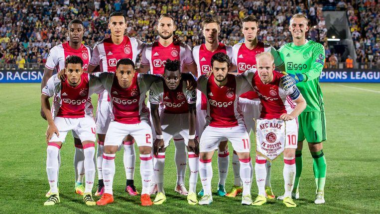 Ajax werd eerder deze week uitgeschakeld voor de Champions League. Beeld anp