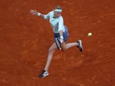 Concurrente Bertens trekt zich terug op Roland Garros