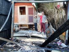 Sinti-woonwagen Gemert van vuurzee gered: 'Op een kampje zou zoiets nooit gebeurd zijn'
