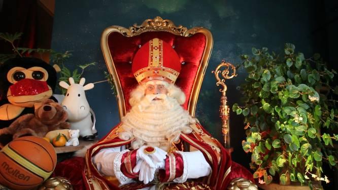 Sinterklaas verrast Genkse kinderen met livestream