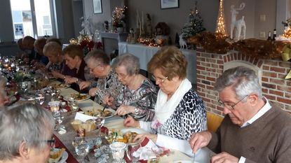 Okra Drieslinter viert kerst