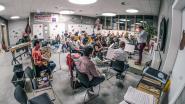Fanfare Heestert repeteert nu in nieuwe gemeenteschool