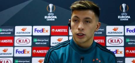 Martínez: 'Wij favoriet? Dat is een compliment'