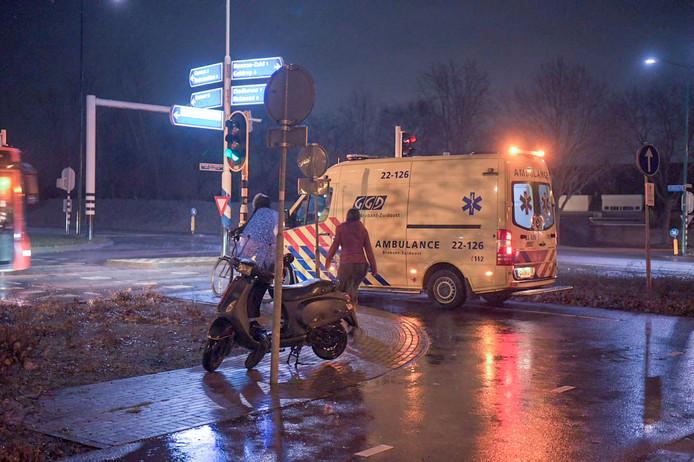 Fietser gewond in Nuenen
