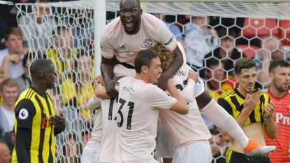Mourinho mag z'n Belgen alwéér bedanken, Watford verliest voor het eerst in de Premier League