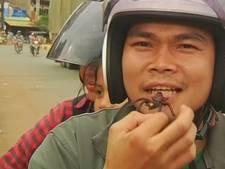 Cambodjanen kunnen weer genieten van angstaanjagende lekkernij