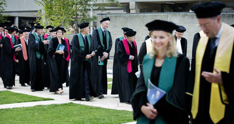 Opening Academisch Jaar Erasmus Universiteit. Beeld anp