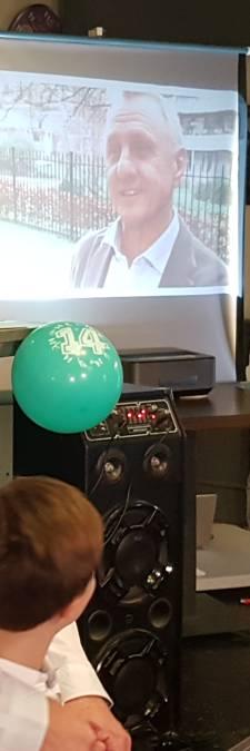 Eerste herdenkingsmiddag voor nummer 14 in Boxtel: 'Johan is onsterfelijk voor ons allemaal'