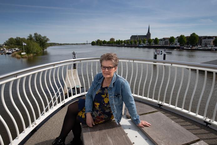 Reinie Verbeek Witteveen  deed in 2013 voor het eerst mee aan de Walk of Hope, een wandelroute door gemeente Kampen met twee bruggen in de route.