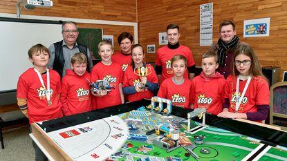 Tasscheschooltje naar Beneluxkampioenschap Lego