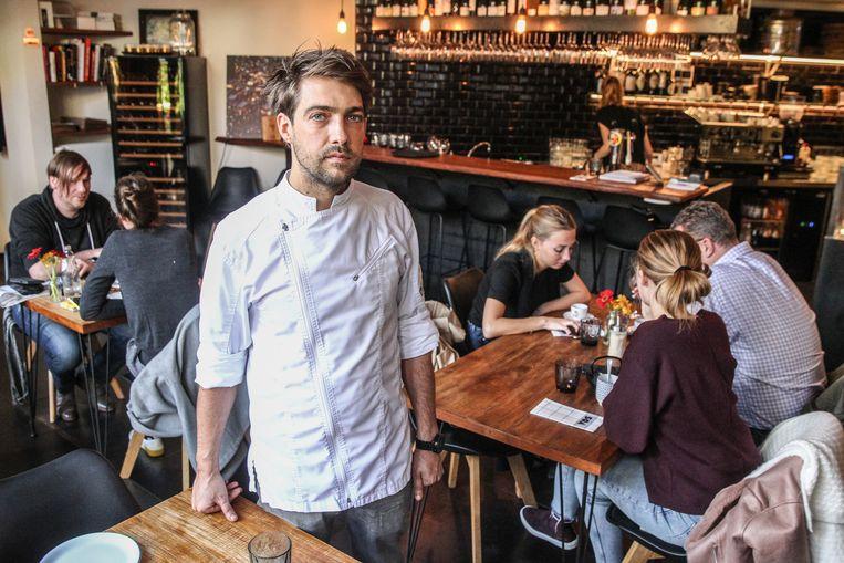 Restaurant Vos met chef Matthias Devos en personeel.