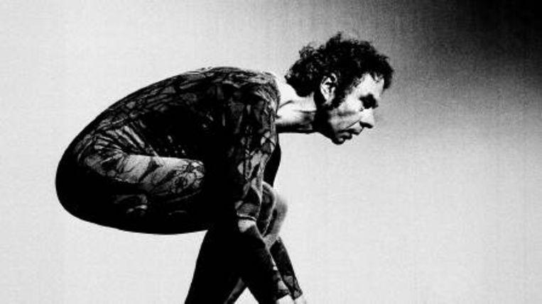 Choreograaf en danser Merce Cunningham in 1973. (Steven Mark Needam/AP) Beeld