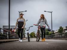 Twan de stoere wereldkampioen BMX, Puck de koersende koningin van Instagram: 'Van het een kwam het ander'