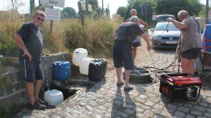 Uur file voor water van Het Bronneken