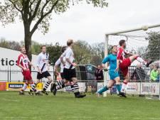 RKDSV speelt gelijk met geïmproviseerd elftal: middenveld vol debutanten en speler uit het vijfde op de bank
