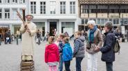 Jezus verschijnt op Grote Markt