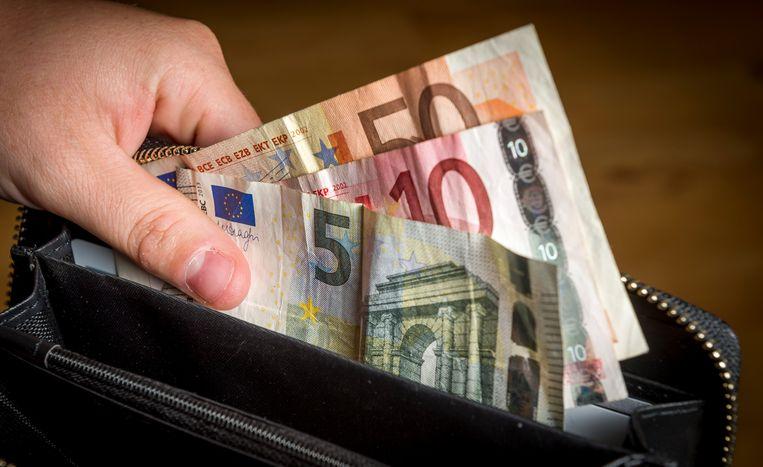 In vier jaar is het inkomen van jongeren met 35 euro gestegen naar 147 euro per maand.  Beeld ANP XTRA