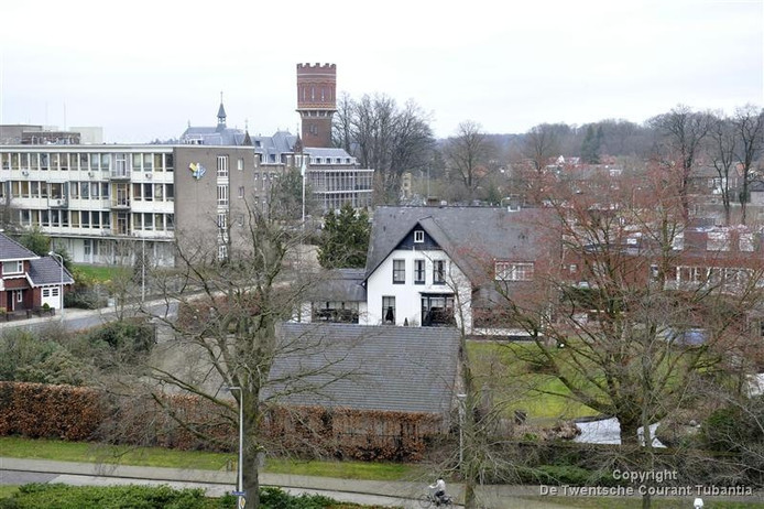 Het aangepaste plan voor de Villa Rozenhof gaat uit van nieuwbouw aan de zijde van de Haerstraat.