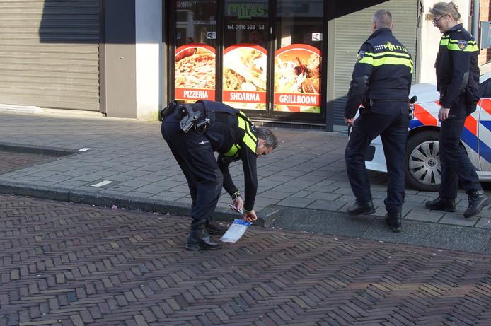 Waarschuwingsschoten gelost in Waalwijk