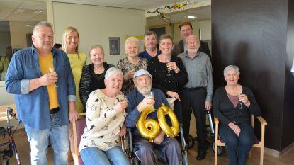 Frans (83) en Mireille (79) vieren zestigste huwelijksverjaardag