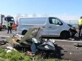A16 bij Breda weer vrij na groot ongeluk