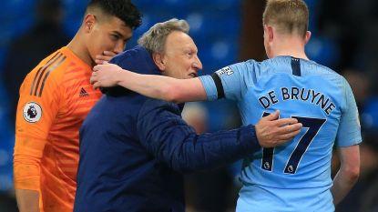 """Was het je bedoeling?"" De Bruyne dolt met rivaliserende coach na klassegoal"