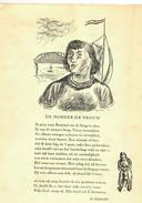 Illustratie van Henk Henriët in De Verluchte Bladzij, een speciale uitgave van de 'Kroniek van de Kunst en Kultuur', april 1941.