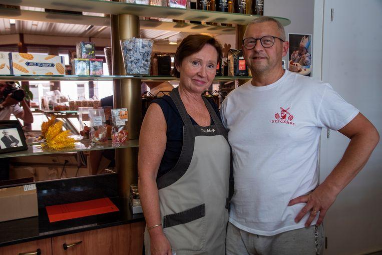 Lena en Kris staan al 25 jaar in hun bakkerij in Wetteren.