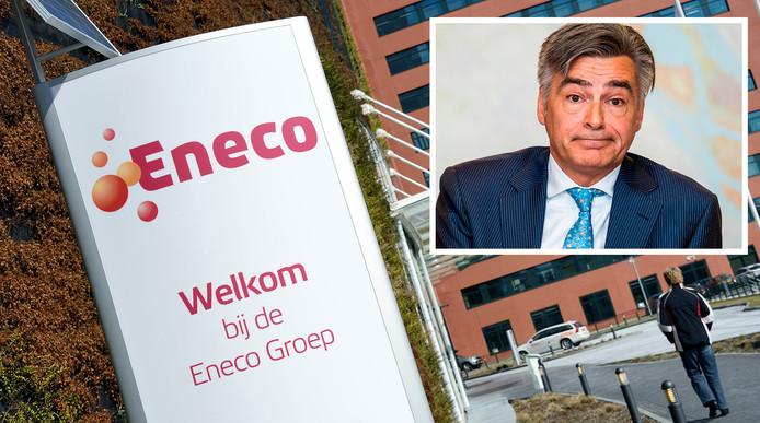 'We vinden het bijzonder jammer dat Adriaan weg is', aldus Eneco-topman Ruud Sondag.