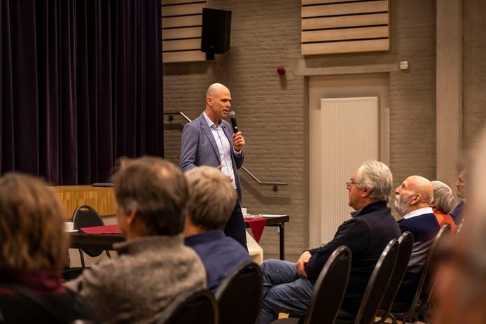 Airport-directeur Roel Hellemons in Knegsel