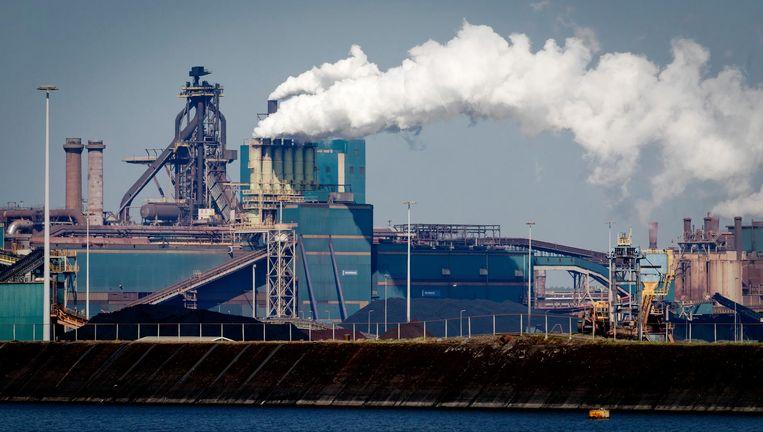 Tata Steel in IJmuiden Beeld anp