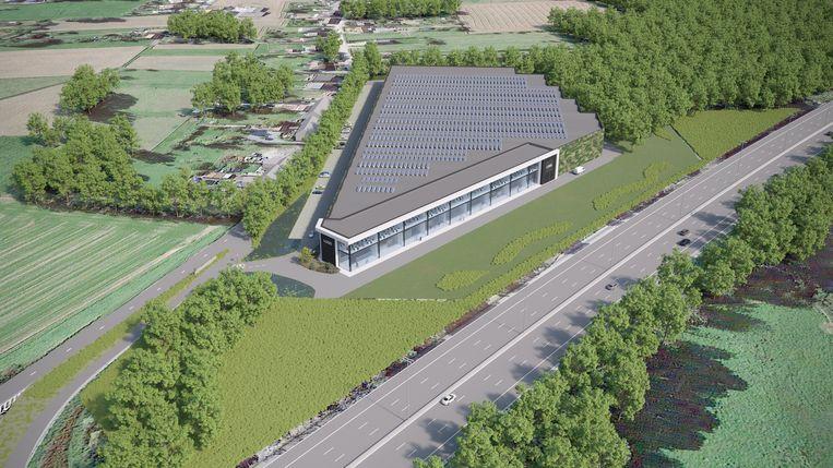 TERNAT: Een toekomstbeeld van de Sun Chemical-site