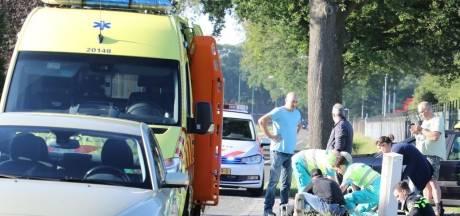 Motorrijder gewond bij ongeluk in De Moer